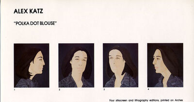 Alex Katz, 'Ada Four Times: set of four prints', 1978-1979