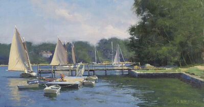 Donald W. Demers, 'A Coming Breeze, Quisset Harbor, Cape Cod', 21st Century