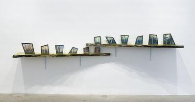 Ger van Elk, 'Sunset Moonrise Sologne (Une Nuit dans un Chalet Suisse)', 1990