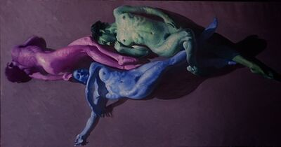 John Asaro, 'Rose Blue Green', 2020