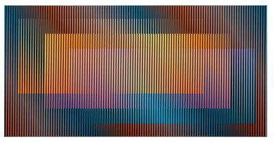 Carlos Cruz-Diez, 'Induction Chromatique Fedix 3', 2010