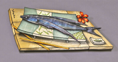 John Cederquist, 'Tabiuo (flying fish) Tray', 2011