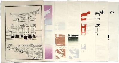 Paul Binnie, 'Famous Views of Japan: Torii Gate at Miyajima Process Set', 2003