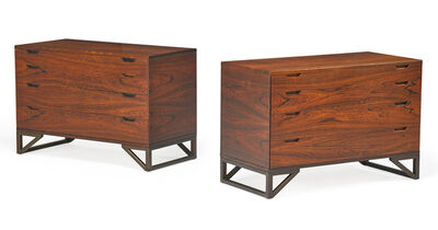 Svend Langkilde, 'Pair of dressers, Denmark', 1960s