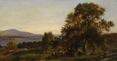 Samuel Lancaster Gerry, 'Chestnut Trees at Bolton, Lake George, New York', 19th Century
