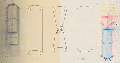 Shusaku Arakawa, 'Point Blank II', 1979
