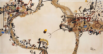 John Olsen (b.1928), 'Edge of the Void', 1975