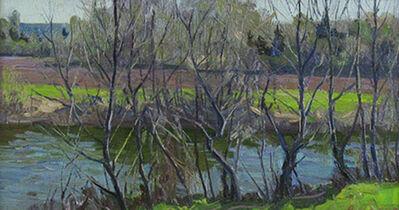 Anatol Bokov, 'Spring Stream with Trees', ca. 1970