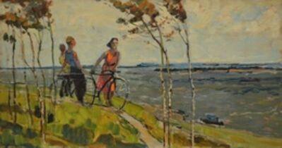 Aleksey Ivanovich Borodin, 'Beside Volga River', 1955