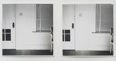 William Wegman, 'Light Off / Light On', 1970