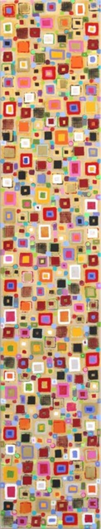 Petra Rös-Nickel, 'Color Stamps', 2019