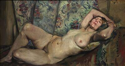 Lovis Corinth, 'Liegender weiblicher akt', 1913