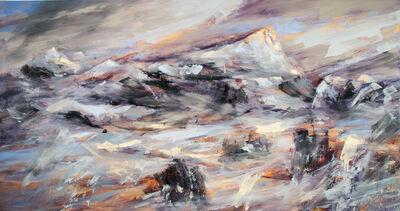 Réal Calder, 'Sainte Victoire, l'heure mauve', 2017