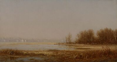 Sanford Robinson Gifford, 'The Marshes of the Hudson', 1878