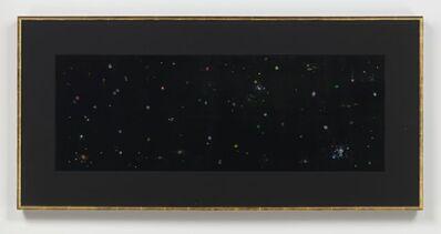 Mike Kelley, 'Black Velvet Study #3', 2002