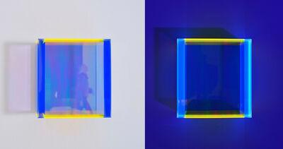 Regine Schumann, 'Colormirror rainbow pastel blue hongkong', 2020
