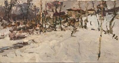 Fedor Zakharov, 'Winter in Sednev', 1968