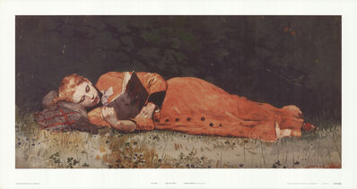 Winslow Homer, 'The New Novel', 2000