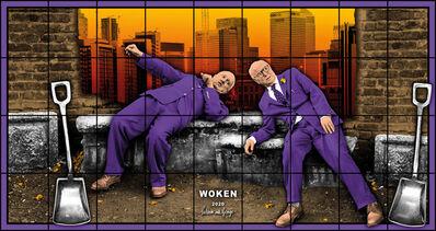 Gilbert and George, 'WOKEN', 2020