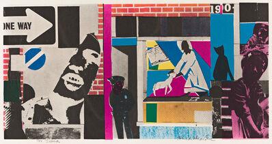 Romare Bearden, 'Untitled (Street Scene)', circa 1972