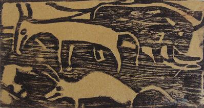 Christian Rohlfs, 'Animals in the Pasture | Tiere auf der Weide', 1921