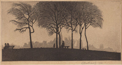 Ramendranath Chakravorty, 'Hampstead Heath', 1938