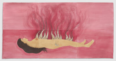 Hiba Schahbaz, 'Fire Woman', 2017