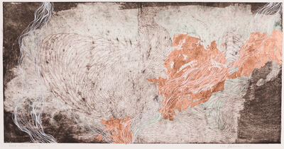 Resa Blatman, 'Hand-altered Etching 6'