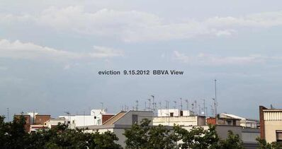 Adrian Melis, 'Time to relax-eviction 9.15.2012 BBVA view', 2012