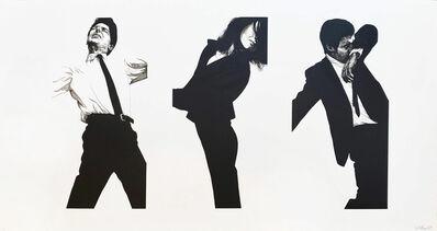 Robert Longo, 'Jules, Gretchen, Mark (State II)', 1983
