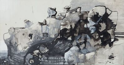 Leonardo Cremonini, 'Pietre vulcaniche', 1959
