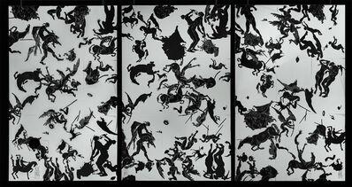 Javier Marin, 'Composición 60 elementos I, II y III', 2018