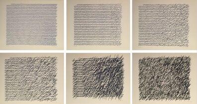 Vera Molnar, 'Lettres de ma mère (6)', 1990