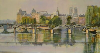 Lawrence Kelsey, 'Pont des Arts & Reflections', 2014