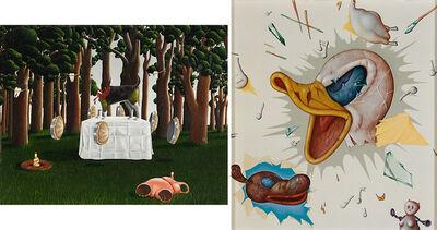 Kathy Calderwood, 'Two Works of Art: Malkkiyah, Hold My Hands, Donald'