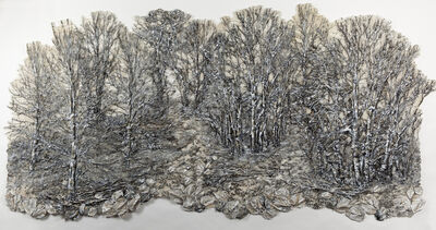 Lesley Richmond, 'SILVER FOREST 3', 2015