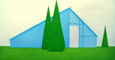 Salomón Huerta, 'Untitled (Persian Blue House)', 2004