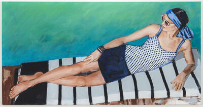 Walter Robinson, 'Lands' End Bask in the Glory of Summer', 2014