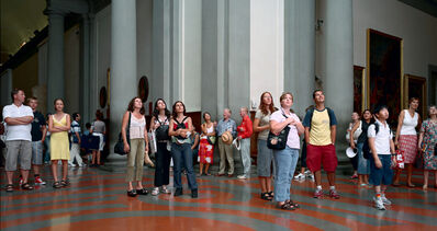 Thomas Struth, 'Audience 4, Florence', 2004