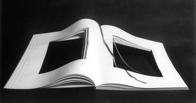 Vincenzo Agnetti, 'copia di libro dimenticato a memoria aperto', 1969