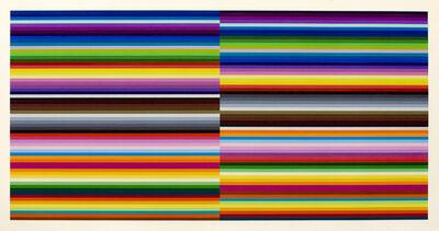 Polly Apfelbaum, 'Split Ribbons 12', 2011