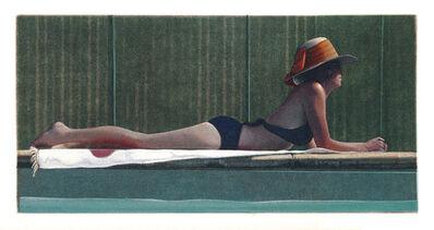 Guy Diehl, 'Figure by the Pool (Sue)', 2016
