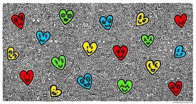 Mr. Doodle, 'Heart Land', 2020