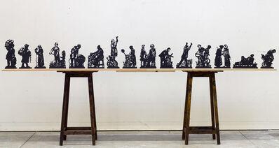 William Kentridge, 'Processione di Riparazioniste', 2017