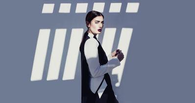 Faiza Bouguessa, 'Geometric Abaya Dress', 2014