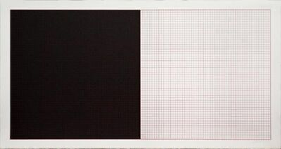 Sol LeWitt, 'Untitled No.21 (Black and Red)', 1979