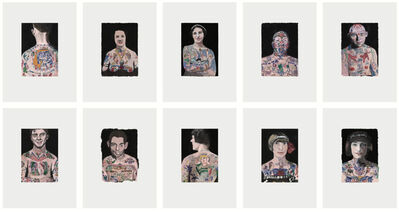 Peter Blake, 'Tattooed People', 2015