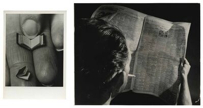 Murray Moss, 'TQ 89/90: Smallest Books in the World/Unemployment', 1979/1959