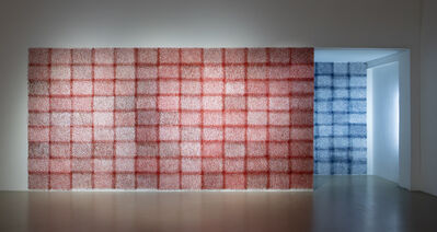Be Takerng Pattanopas, 'TransPollock #3 [red shift, blue shift]', 2014-2018