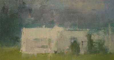 Stuart Shils, 'Barns Under Dark Sky, Late in the Day'